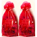 Unisex Red Party Bags