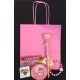 Girls Luxury Twist Handled Party Bag