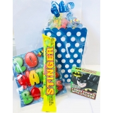Older Boys Filled Party Treat Box