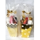 Girls Gold Pamper Party Bags
