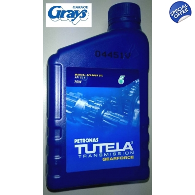 Petronas Tutela Gearforce 75W Manual Gearbox Oil