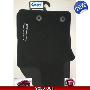 Fiat 500X Mat Set | Genuine ..