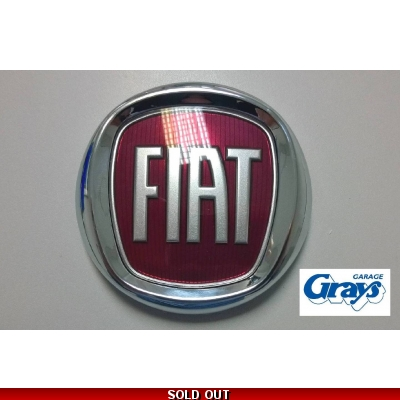 Fiat Badge | Fiat Boot Badge | Fiat Tailgate Badge | 735565897