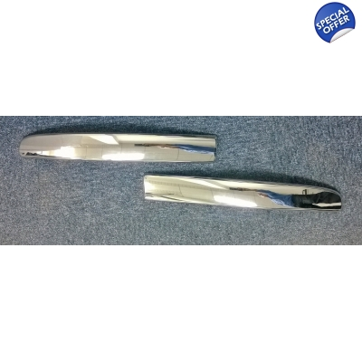 Fiat 500 Chrome Front Bumper Moulding Set | 50901686