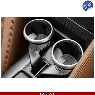 Fiat 124 Spider Cup Holder Silver Ring Set | 71807616