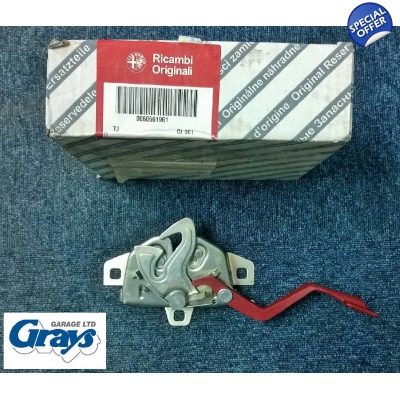 Bonnet Release Lock Alfa Romeo | 60661961 | Genuine Alfa Romeo Part