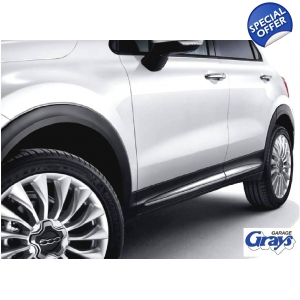 Fiat 500X Chrome Side Mouldi..