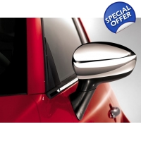 Chrome Mirror Cover Set Fiat 500 500C & Punto | ..