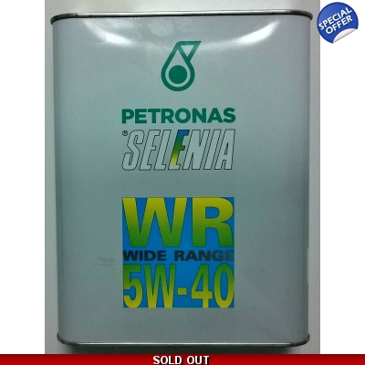 Selenia WR 5W-40 2 litre Engine Oil