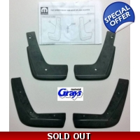 Fiat 124 Spider Front & Rear Splash Guard Set | ..