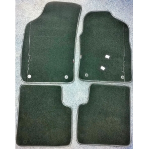 Fiat 500 Carpet Mat Set Blac..