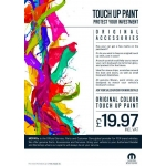 Fiat Touch Up Paint Stick