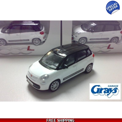 Fiat 500L model car 1:43 scale | Model Car Fiat 500L | Toy Fiat 500 L | Fiat Model Cars 1:43 scale