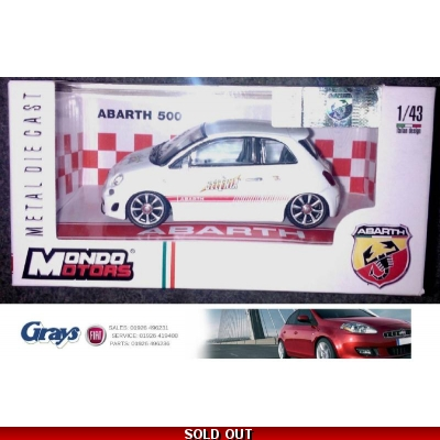 ABARTH 500 Model | Selenia Racing Model Car | 500 Abarth Model Car 1:43 scale
