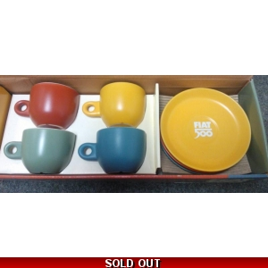 Fiat 500 Coffee Cup Set | Cl..