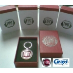 Fiat Keyring Red Logo | Fiat Key Ring - genuine Fiat product | 46003944