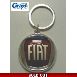 Fiat Keyring Red Logo | Fiat Key Ring - genuine Fiat produ..
