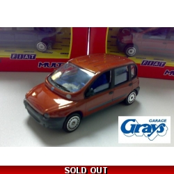 Fiat Multipla Model Car | Fiat 1:43 scale | 5913348 *** LAST FEW MODELS ***