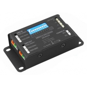 DMX Decoder - RGB 3 Channel 12-24V LED Driver