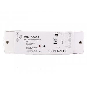 SR-1006FA - Colour touch 4 RGB RF Receiver- 4 Zone