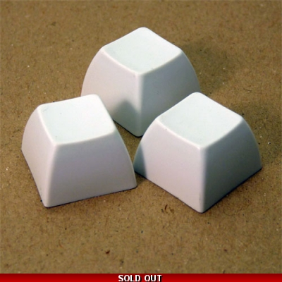 Button SA White - Packof 3
