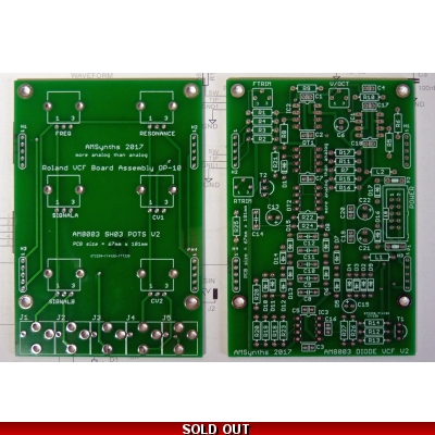 AM8003 Diode VCF PCB