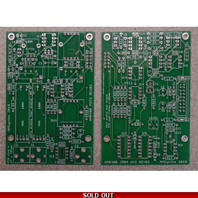 AM8400 JP04 VCO PCB SET