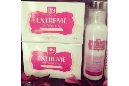 BN SET E*BN EXTREME WHITENING SOAP/LOTION