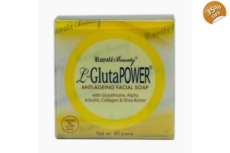 10x Pack Royale L-Gluta Power AntiAgeing Soap 130g