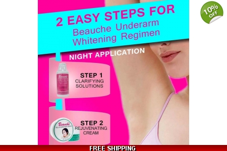 BEAUCHE UNDERARMS WHITENING SET*FREE SHIPPING