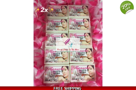 20 Pcs. Beauche Gluta Soap 9..