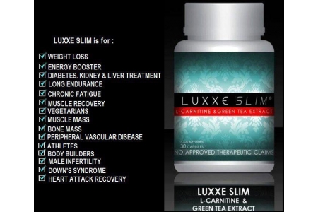 Buy 1 LUXXE Slim And 1 LUXXE White Glutathione 60 Capsules *Made In Usa
