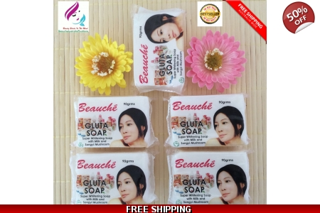 5 Pcs. Beauche Gluta Soap 90g*BestSeller