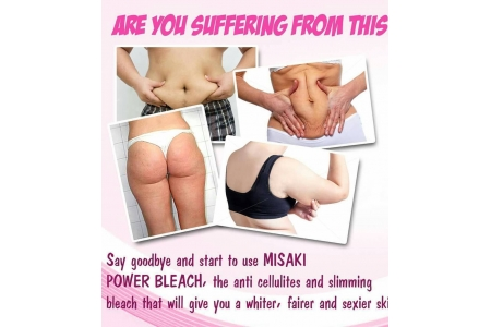 MISAKI POWER BLEACH with SPF 65 *SLIMMING/ANTI- CELLULITE