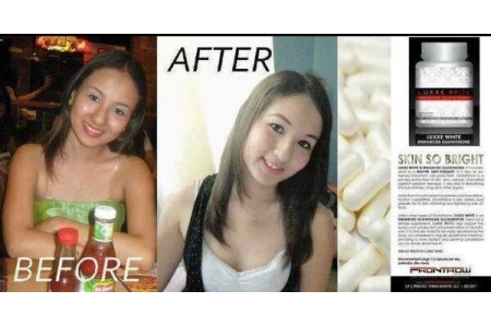 BUY 3 *Pack LUXXE WHITE GLUTATHIONE 60 Capsules *Made In USA