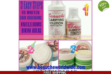 BEAUCHE UNDERARMS WHITE..