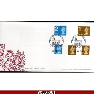 20090331 Booklet security stamps FDC 3..