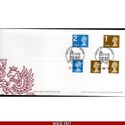20090331 Booklet security stamps FDC 31 March 2009