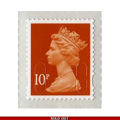 3010.2 10p orange MAIL M12L 2013 issue