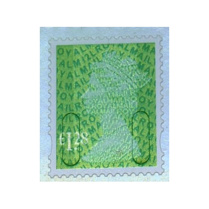 3128 £1.28 emerald M12L MAIL definitive 2012