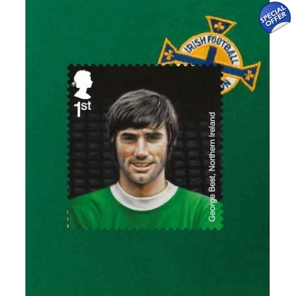 3475v George Best Football Hero short phosphor at top