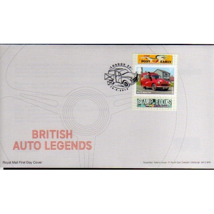 3530 Morris Minor Postvan Europa booklet FDC 19.9.2013