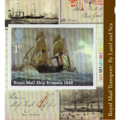 3531 RMS Britannia self-adhesive from retail booklet