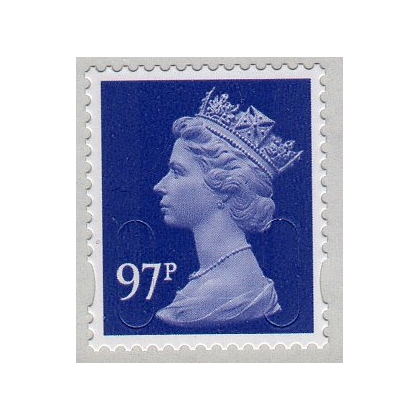 3097 97p Purple Heather M14L Machin definitive