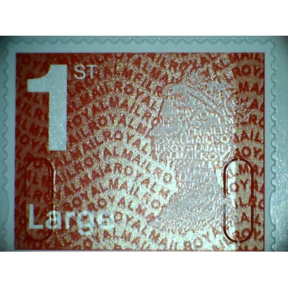 2937.4 1st Large red MA14 MFIL ex book of 4, 2014