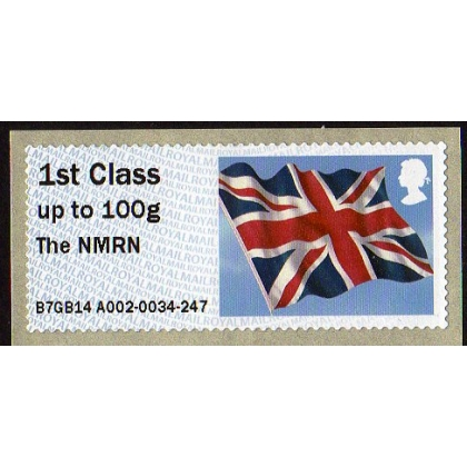 FV10a NMRN 1st class Flag Faststamps Royal Navy