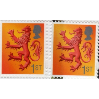 S131a Scotland 1st class litho from Gr..