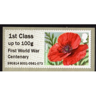 FT10-1 Poppy Faststamps..