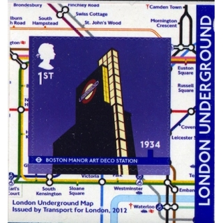 3430 London Underground booklet stamp