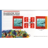 3625 Commonwealth Games booklet on FDC